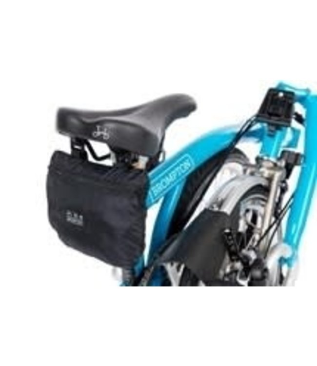 Brompton Brompton Bike Cover With Integrated Pouch Black