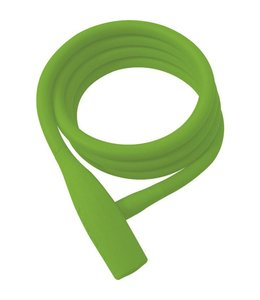 Knog Knog Lock Coiled Cable Party Lime Green 1300mm