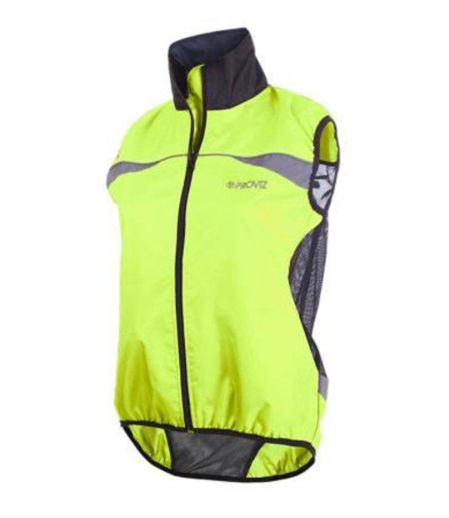 Proviz Proviz Gilet High Visability Wind Vest Yellow Small