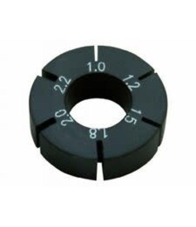 Unior Unior Spoke Key Bladed Holder 1.0/1.2/1.5/1.8/2.0/2.2mm 617588