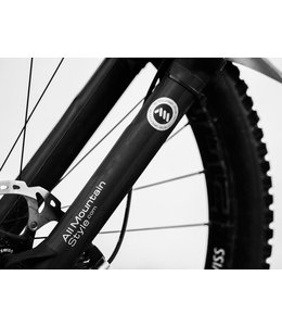 All Mountain Style All Mountain Styles AMS Fork Guard Black