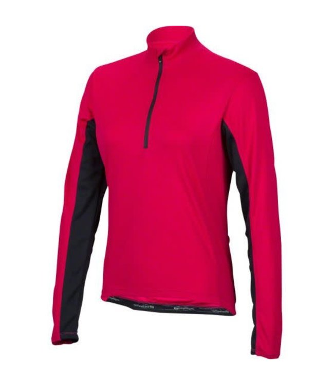 Bellwether Bellwether Jersey Tempo Wmn L/S Berry Sml