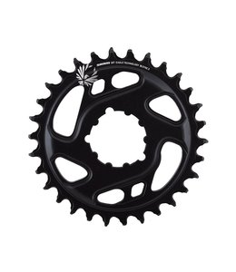 SRAM Eagle NX Chainring X - Sync 2 Direct Mount 6mm Offset Black 1 x 12Speed 30T