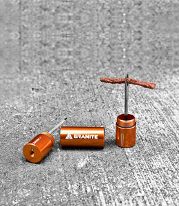 Granite Design Granite Stash Tire (tyre) Plug Kit Orange
