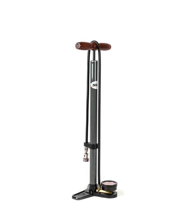 Silca Silca Pista Plus Floor Pump Black
