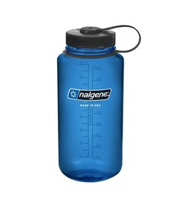 Nalgene Nalgene Bottle Wide Mouth Tritan 1000ml Blue With Black