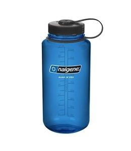 Nalgene Nalgene Bottle Wide Mouth Tritan 1000ml Blue w/Blk
