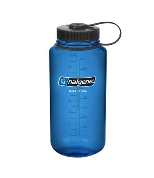 Nalgene Nalgene Bottle Wide Mouth Tritan 1000ml Blue With Black