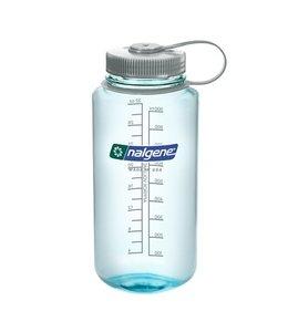 Nalgene Nalgene Bottle Wide Mouth Tritan 1000ml Seafoam w/Silver