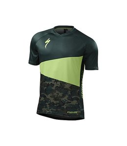 Specialized Specialized MTB Jersey Enduro Comp SS Green /Camo Small