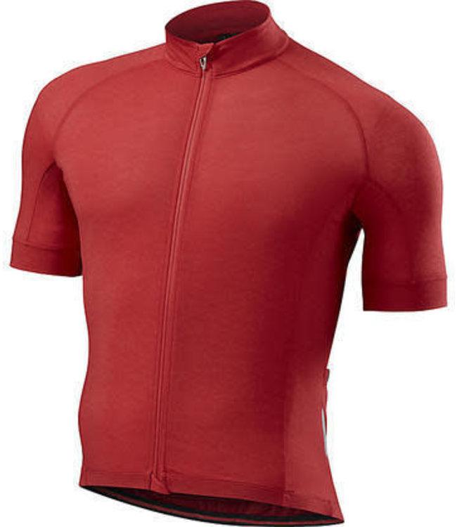 Specialized Specialized Jersey SL Merino Drirelease SS Candy Red/ Heath Medium