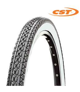 CST Tyre Whitewall 26 x 2.125