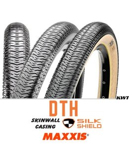 Maxxis Maxxis Tyre DTH 26 x 2.3 Wirebead Tanwall