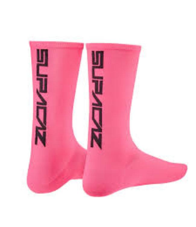 Supacaz Supacaz Socks Neon Pink Large/Xlarge