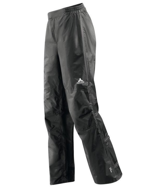 Vaude Womens Drop Cycling Rain Pants Black Large 42