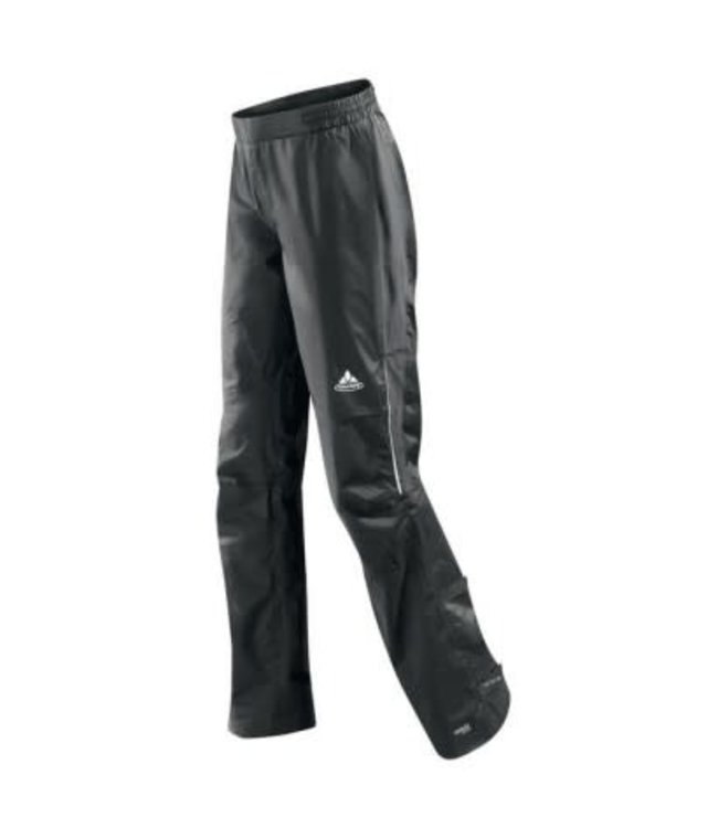 Vaude Womens Cycling Rain Spray Pants II Black XXS 34