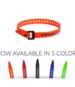 "Voile Voile Strap Nano Nylon Buckle 6"" Orange"