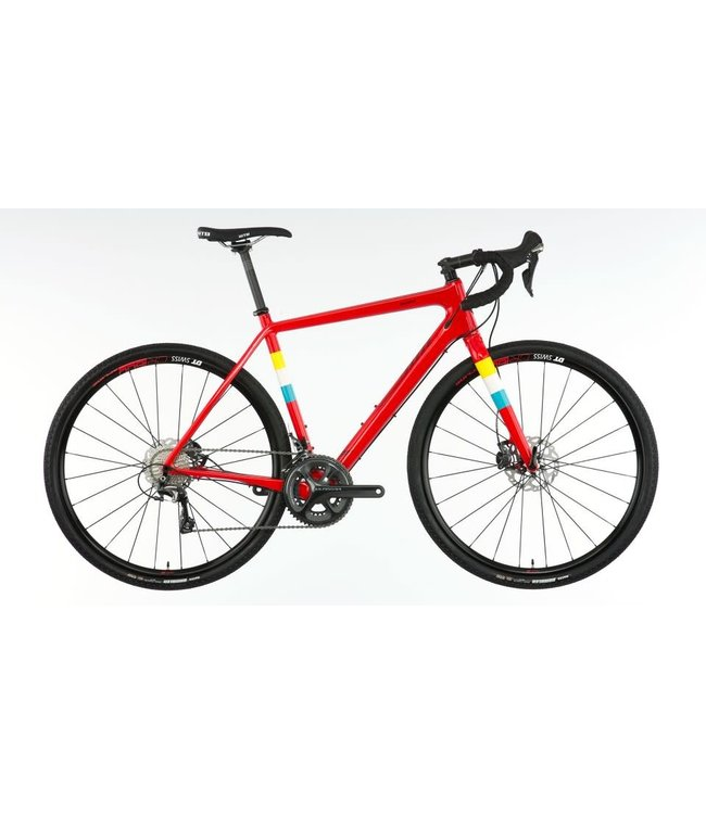 Salsa Salsa Warbird Rival 22 Red 56cm - Custom Built One Off Colourway