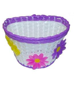 Basket Kids Flow er White Purple #1151