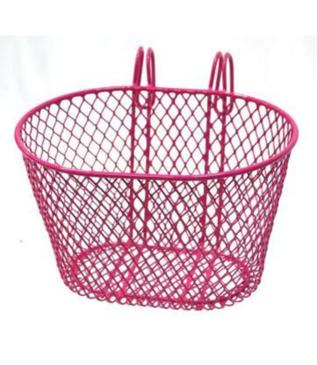 BPW Basket Front Hook On Steel Pink 8881