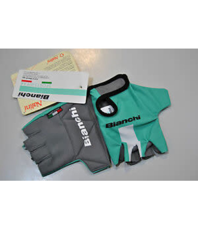 Bianchi Bianchi Gloves RC Coolmax Summer Celeste M