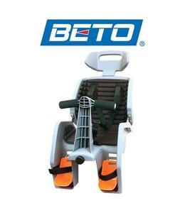 Beto Baby Seat Deluxe 700c inc Rack Gray