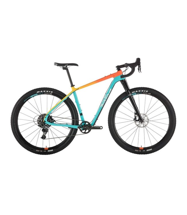 Salsa Salsa Cutthroat Apex 1 Teal / Orange Fade Medium