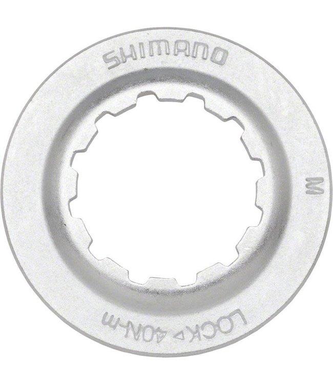 Shimano Shimano RT67 Centerlock Disc Rotor Lockring Silver/Steel