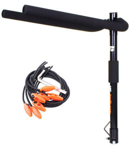 JetBlack Jet Black Tow Ball 3 bike rack