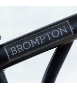 Brompton Brompton sticker kit (Black Edition) - For Black Frames