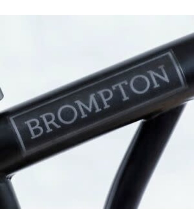 Brompton Brompton sticker kit (Black Edition) - For Black Frames