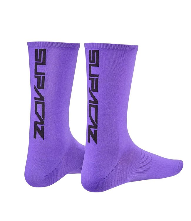 Supacaz Supacaz Socks Neon Purple L/XL