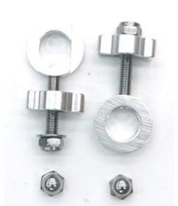 Mr Control Chain Tensioner For 14mm Axle Silver  Pair