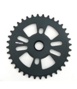 Defiant BMX Chainring 36T  24mm Hole (with adaptors for 19mm &  22mm)