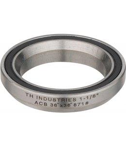 "TH Industries Cartridge Bearing ACB 36 x 36 1 1/8"" TH 871"