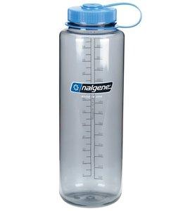 Nalgene Nalgene Bottle Wide Mouth Silo 1.5l Grey / Blue Cap