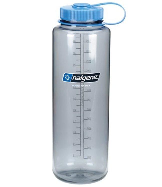 Nalgene Nalgene Bottle Wide Mouth Tritan Silo 1.5l Grey w/ Blue