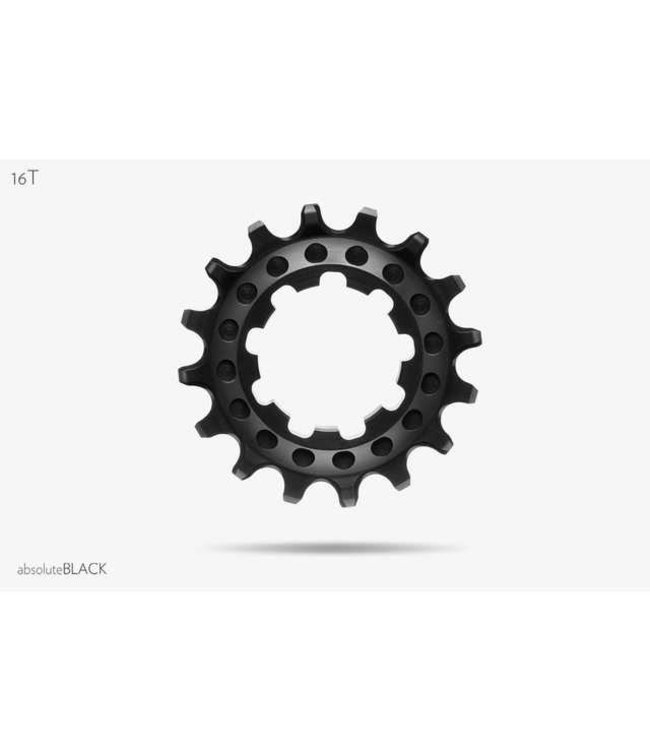 Absolute Black Absolute Black Singlespeed narrow-wide cog Blk 16T