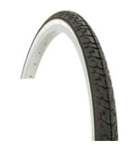 Duro Tyre 700 x 25c Black With White Sidewall
