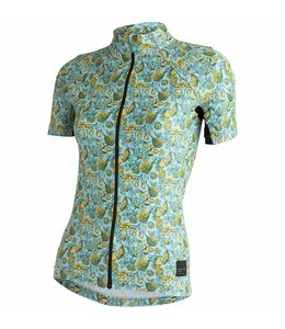 Machines For Freedom Machines For Freedom Endurance Jersey Ss Women's Fruits Print
