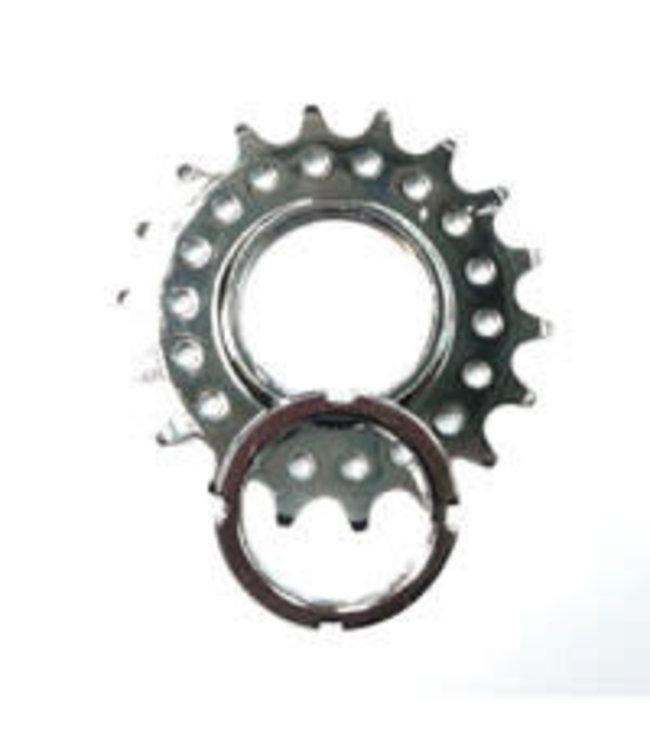Bikelane Fixed Cog Screw On CroMo 1/8 x 17T Silver