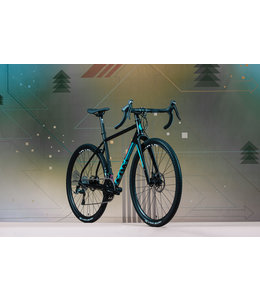Bombtrack Bombtrack 2020 Hook Womens 700c Matte Black/Cyan Medium 52cm
