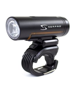 Serfas Serfas True Road 1000 Lumen Front Light Black