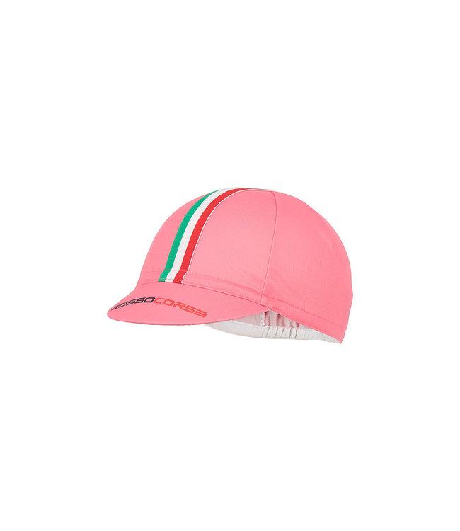 Castelli Cap Rosso Corsa Giro Pink 025