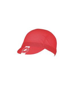 Castelli Cap AC Cycling Red 023