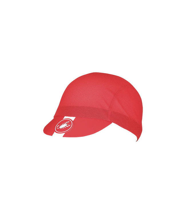 Castelli Cap AC Cycling Red 023