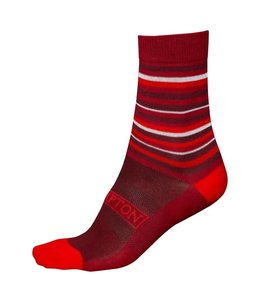 Brompton Brompton Socks Barcelona Coolmax Red L/XL