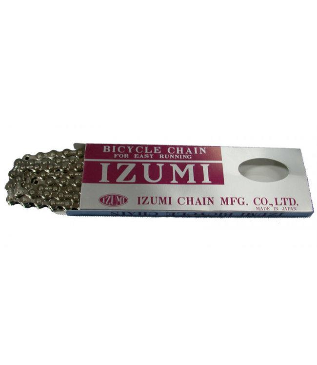 Izumi Chain 1/2 x 3/32 116 link Silver