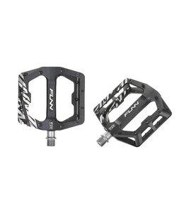 FUNN FUNN Pedal - FUNNDAMENTAL - BLACK w/ Steel Black Pins