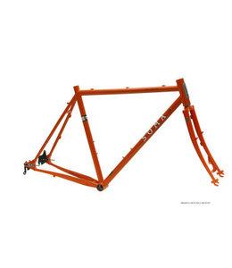 Soma Fabrications Soma Wolverine V1.2  650 Road+ R7000 105 Orange 56cm